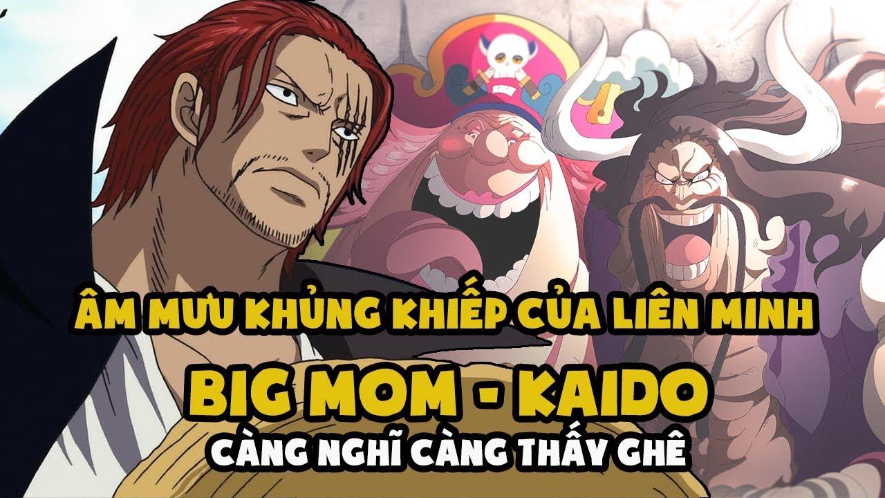 Âm mưu KHỦNG KHIẾP của Liên minh 2 Tứ hoàng Big Mom – Kaido [One Piece Chapter 954]