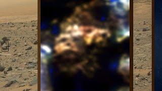 Live Beings Disguised As Rock On Mars
