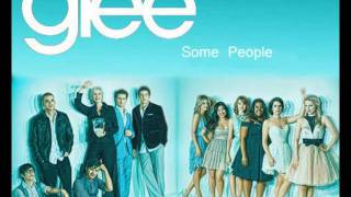 Watch Glee Cast Some People video