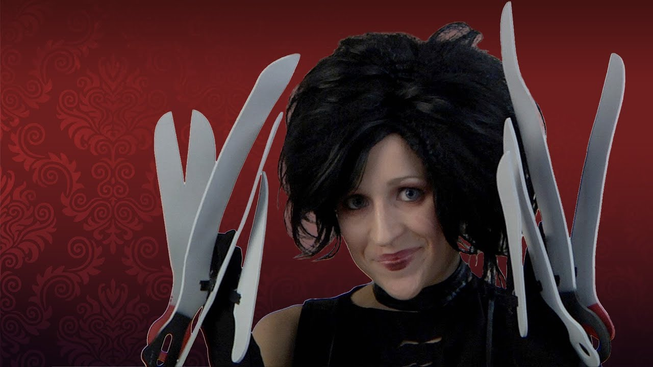 Miss edward scissorhands costume makeup tutorial youtube miss edward scissorhands costume makeup tutorial baditri Gallery