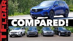 Compared! 2019 Acura RDX vs Audi Q5 vs BMW X3 vs Volvo XC60 vs Mercedes-Benz GLC