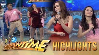"It's Showtime: Ogie, Leila, Sunshine and Angelina dance to the ""Taga-Saan Ka"" Challenge"
