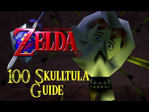 Legend of Zelda: Ocarina of Time 3D Gold Skulltula Guide