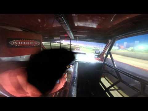8-1-15 Feature Race Peoria Speedway Street Stock #4B Budweiser Car