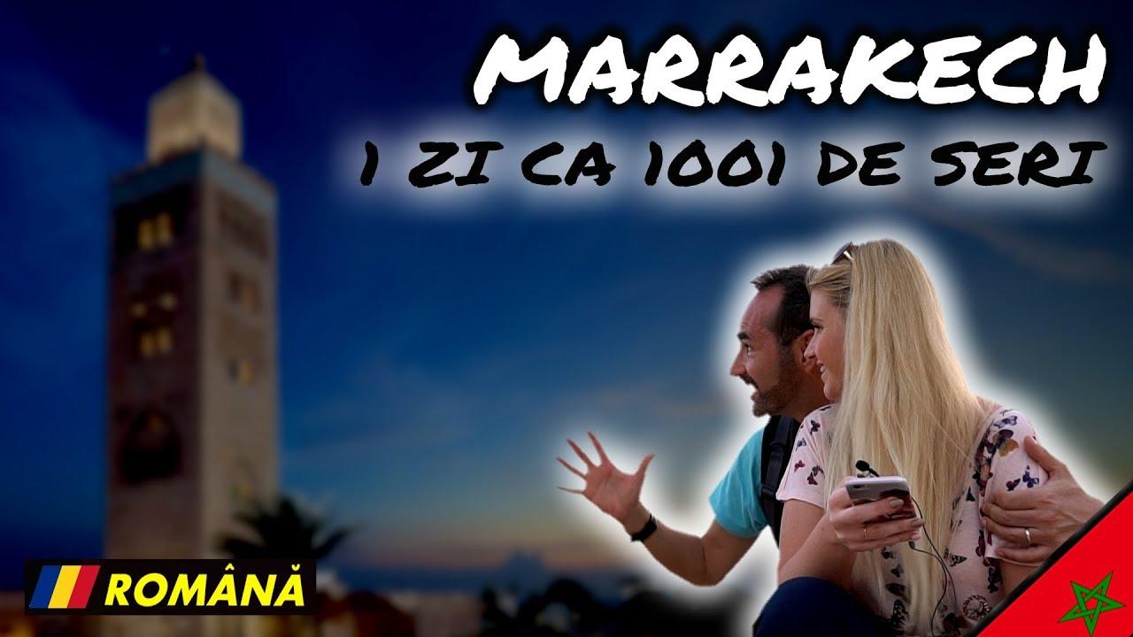Marrakech -O zi ca 1001 de nopti - vlog Maroc