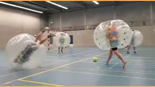 Bubbelvoetbal Sportcafe Westerhoven