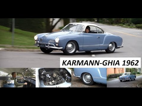 Garagem do Bellote TV: Karmann-Ghia (1962)