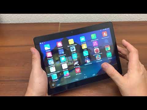 обзор распаковка планшета Galaxy Tab KT106 3G