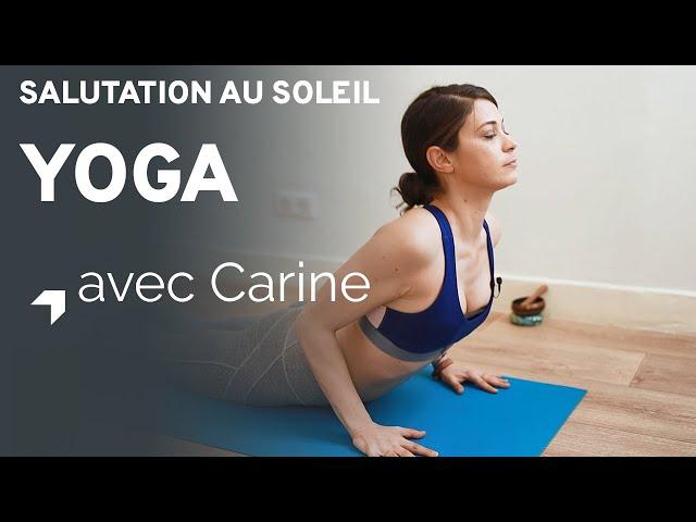 Yoga : salutations au soleil