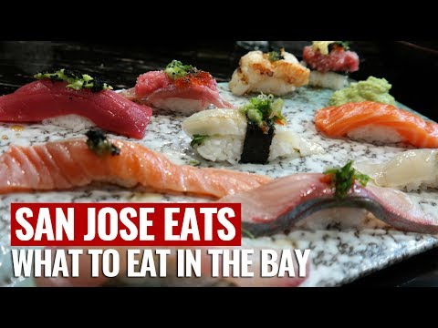 TOP PLACES TO EAT IN THE BAY AREA/SAN JOSE
