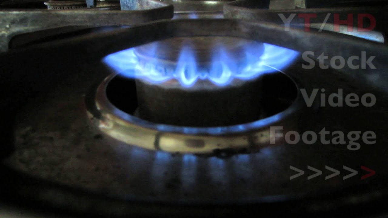 gas stove flame. Cooktop Gas Stove Range Burner Flame Ignitor Turning On \u0026 Off W/ Blue Fire | HD Stock Video Footage - YouTube