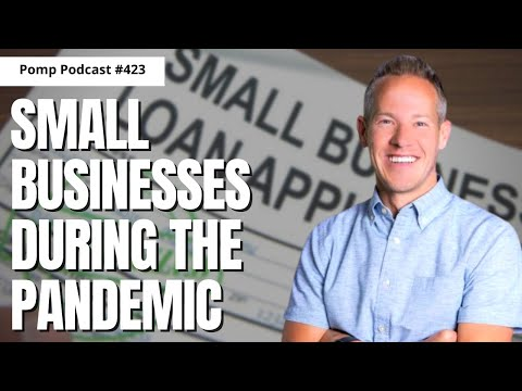 Pomp Podcast #423: Brock Blake on Small Businesses During The Pandemic