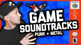 VIDEO GAME SOUNDTRACKS THAT SHAPED PUNK AND METAL