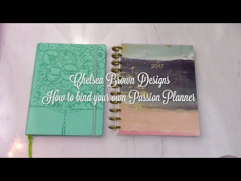 How to Disc Bind your Passion Planner