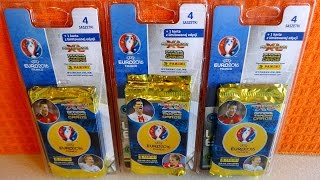 Part 4: UEFA EURO 2016 France Panini Adrenalyn XL 3 x Multi Pack Limited Edition Cards