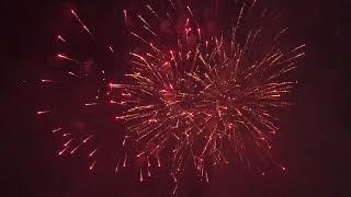Фестиваль фейерверков  Олимпийский парк, час24 августа 2018, часть 2