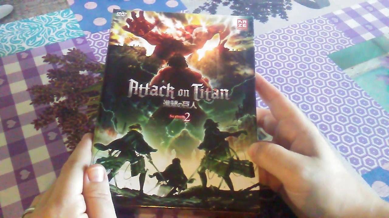 Attack On Titan - Season 2 - DVD Schuber + 1. Vol German ...