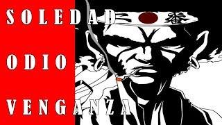 AFRO SAMURAI. SOLEDAD, ODIO Y VENGANZA(SINOPSIS Y REVIEW)| filosofía del anime
