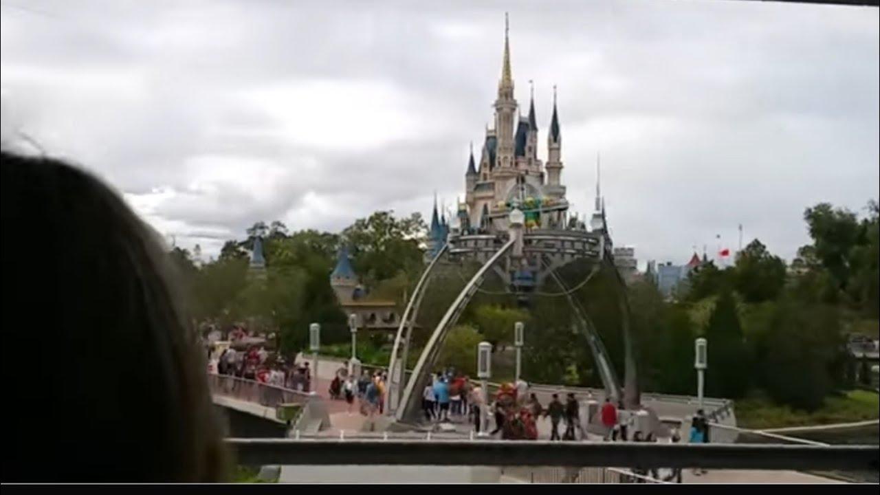 Disney World People Mover Ride POV