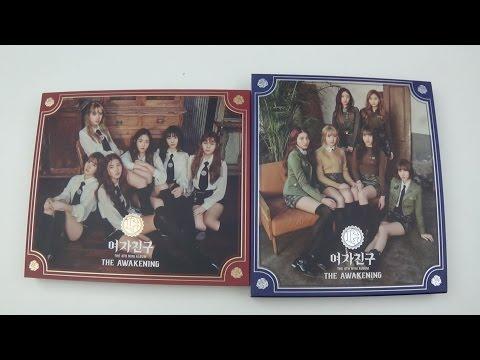 Unboxing GFRIEND 여자친구 4th Mini Album The Awakening (Both Knight & Military Version)