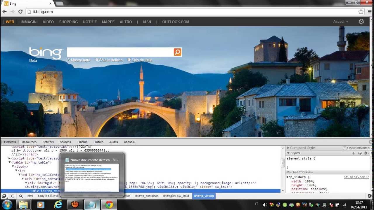 Salvare L Immagine Di Bing Youtube