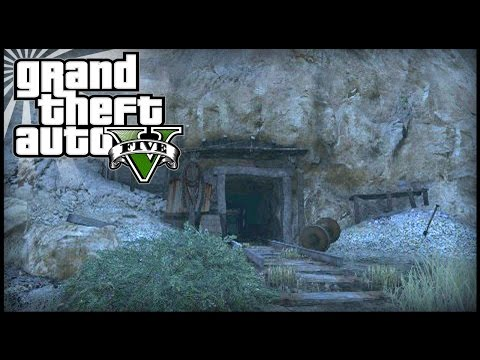 GTA 5 - New Secret Mine Tunnel With Dead Body On Next Gen! (Murder Mystery?)