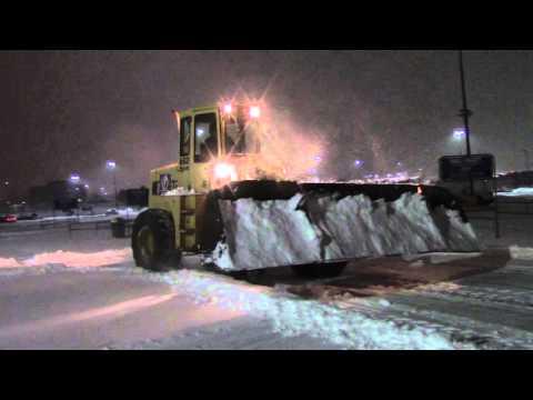 video:Bulldozer Snow Plowing at the Centennial Walmart Part Three