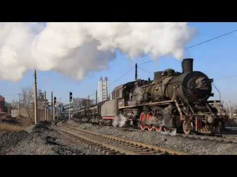China Steam 2013 - Part 2 - Around Fuxin Colliery