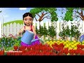 Mary Mary Quite Contrary - 3D Animation English Nursery Rhyme for Children