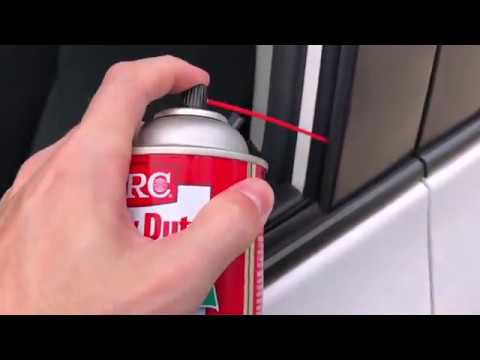 Silicone Grease On Noisy/slow Car Windows