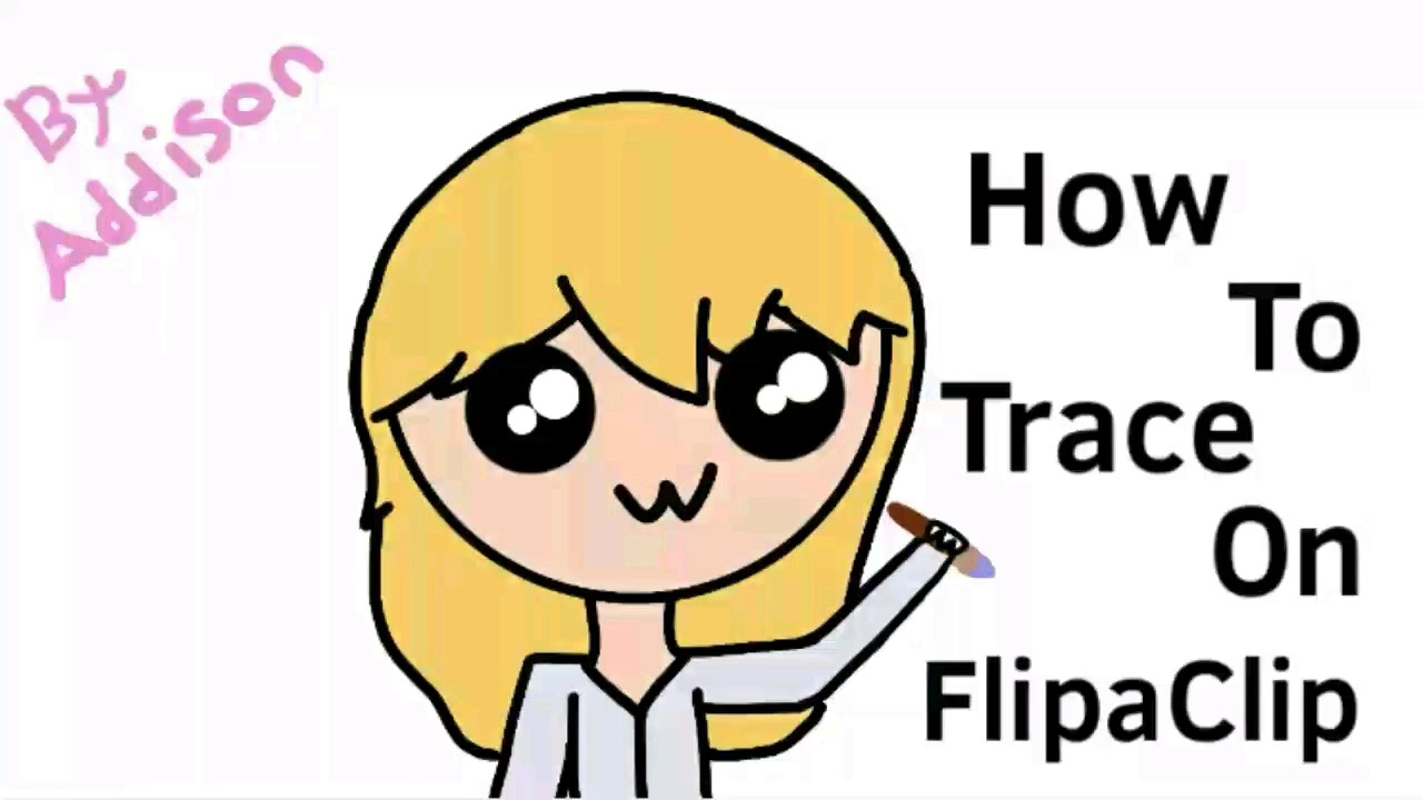 how to trace on flipaclip youtube