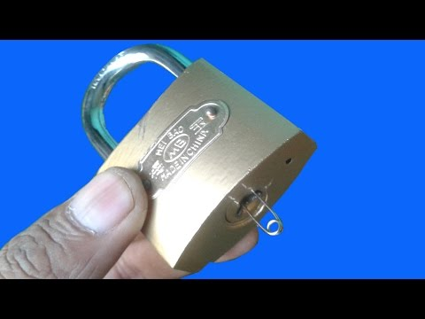 Thumbnail: 3 Ways Open a Lock with Safety Pin