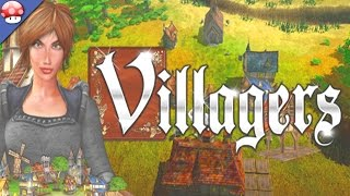 Villagers: PC Gameplay (60fps/1080p) (Steam Town Builder Game)