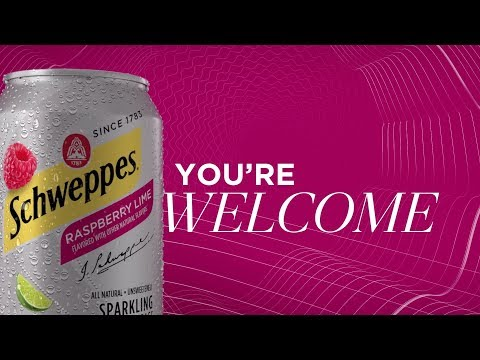 Schweppes Sparkling Water – Discovery