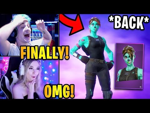 Streamers React To *RARE* GHOUL TROOPER *FINALLY* BACK! | Fortnite Highlights & Funny Moments