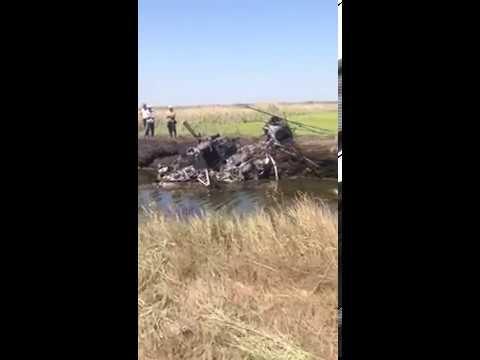 В Краснодарском крае разбился вертолет Ми-2. Пилот погиб