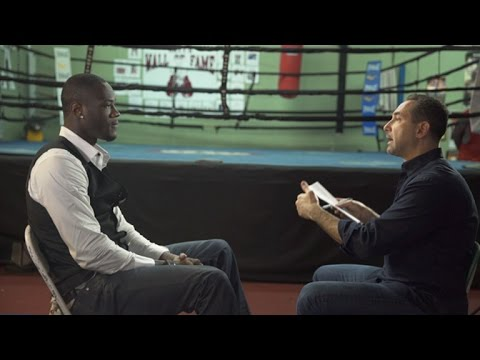Mark Kriegel Interview with Deontay Wilder - SHOWTIME CHAMPIONSHIP BOXING