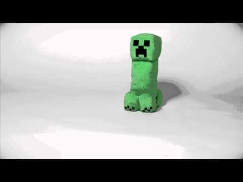 Minecraft Creeper Plush with Sound by J!NX