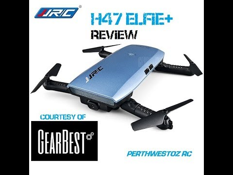 NEW JJRC H47 Elfie+ Foldable Wifi Selfie Drone Review