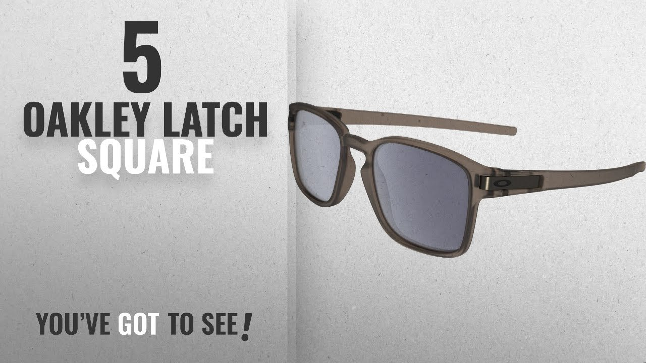Oakley Latch Squared >> Top 10 Oakley Latch Square Winter 2018 Oakley Men S Latch Squared Polarized Rectangular