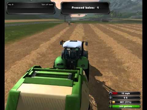 Vid o d couverte pc farming simulator 2011 youtube - Jeu de tracteur agricole gratuit ...