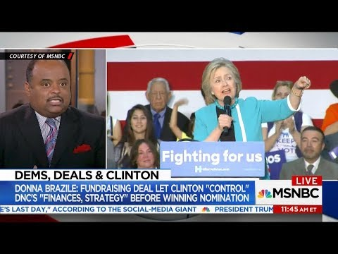 Brazile: Fundraising Deal Let Clinton Control DNC's Finances, Strategy Before Winning The Nomination