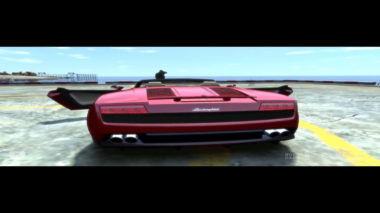 gta 4 lamborghini gallardo crash test hd - youtube