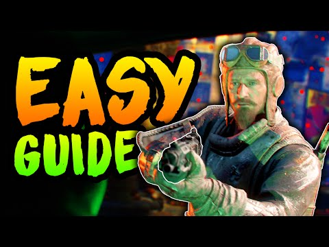 EASIEST GOROD KROVI FULL EASTER EGG GUIDE (Black Ops 3 Zombies Love and War Easter Egg Walkthrough)