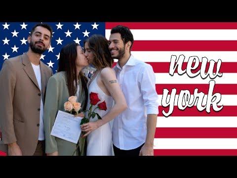 ЛГБТ свадьба в США, русский Нью-Йорк и Чайна-таун