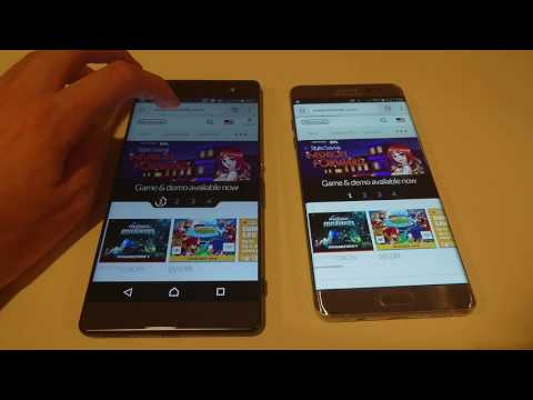 Galaxy Note 7 vs Xperia XA Ultra Speed Test