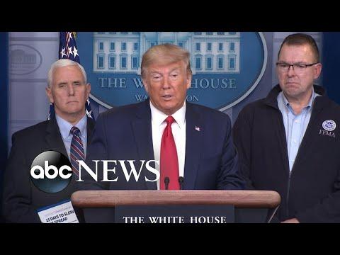 President Trump leads coronavirus task force briefing
