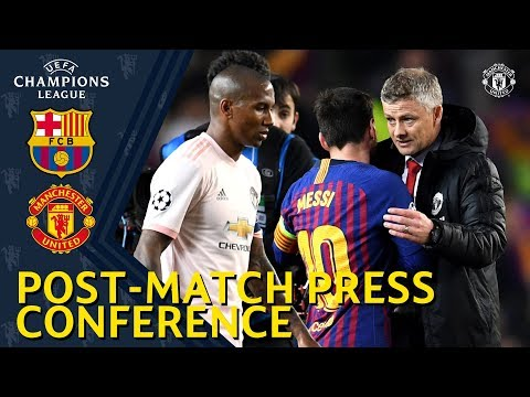 Post Match Press Conference | FC Barcelona v Manchester United | Ole