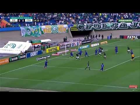 Goiás 1 x 0 CSA - Melhores Momentos & Gols - Série A 2019 (12/10)
