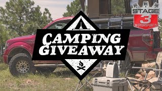Stage 3 Motorsports Outdoor Giveaway